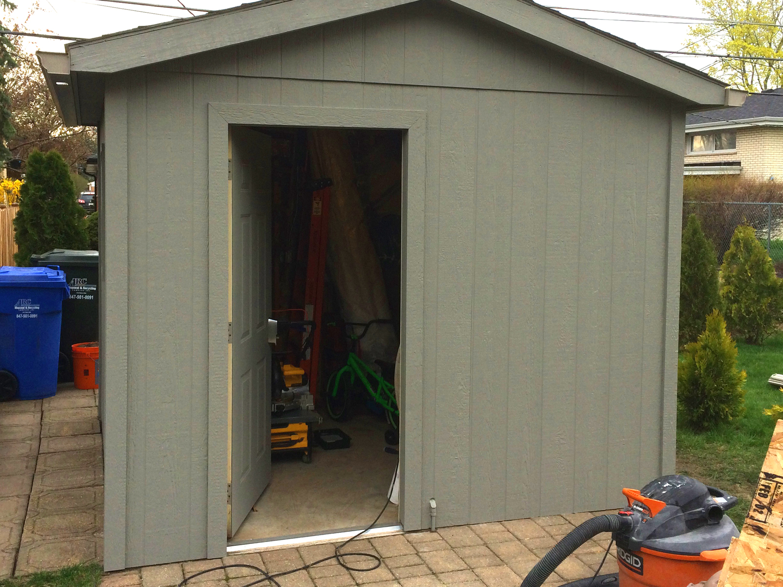 Wood Shed Repair Amp Painting Lawn Care Amp Landscaping Inc